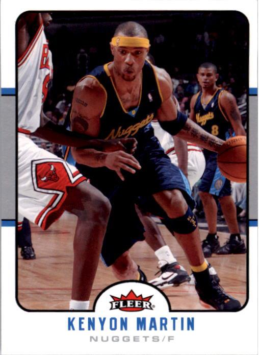 2006-07 Fleer #45 Kenyon Martin