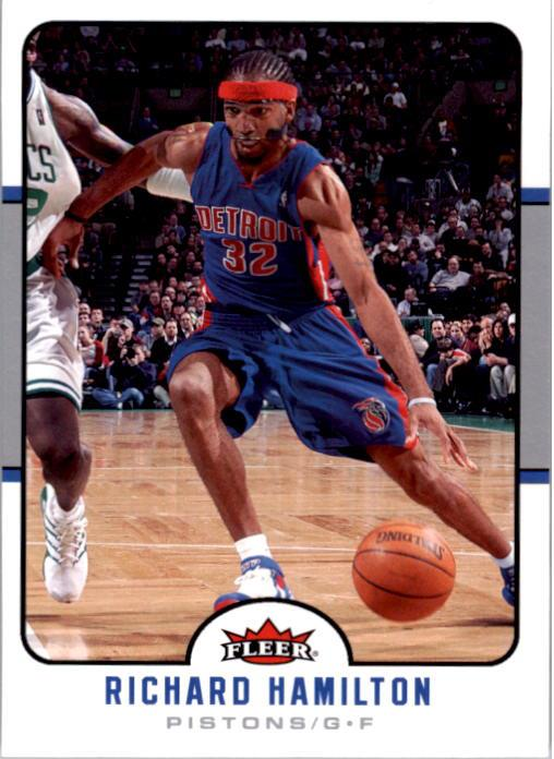 2006-07 Fleer #50 Richard Hamilton