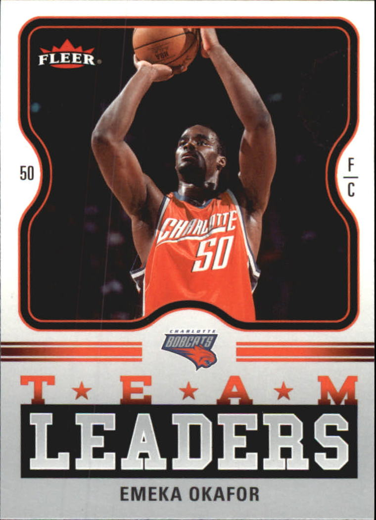 2006-07 Fleer Team Leaders #EO Emeka Okafor