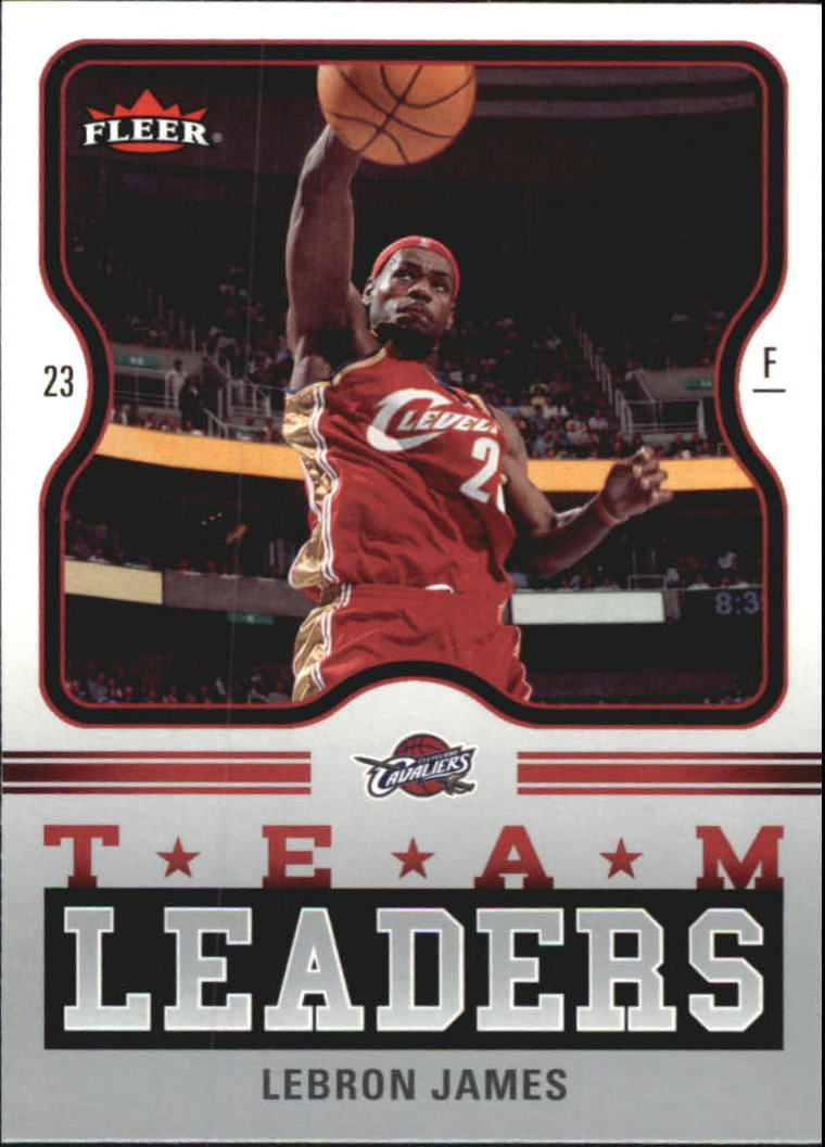 2006-07 Fleer Team Leaders #LJ LeBron James