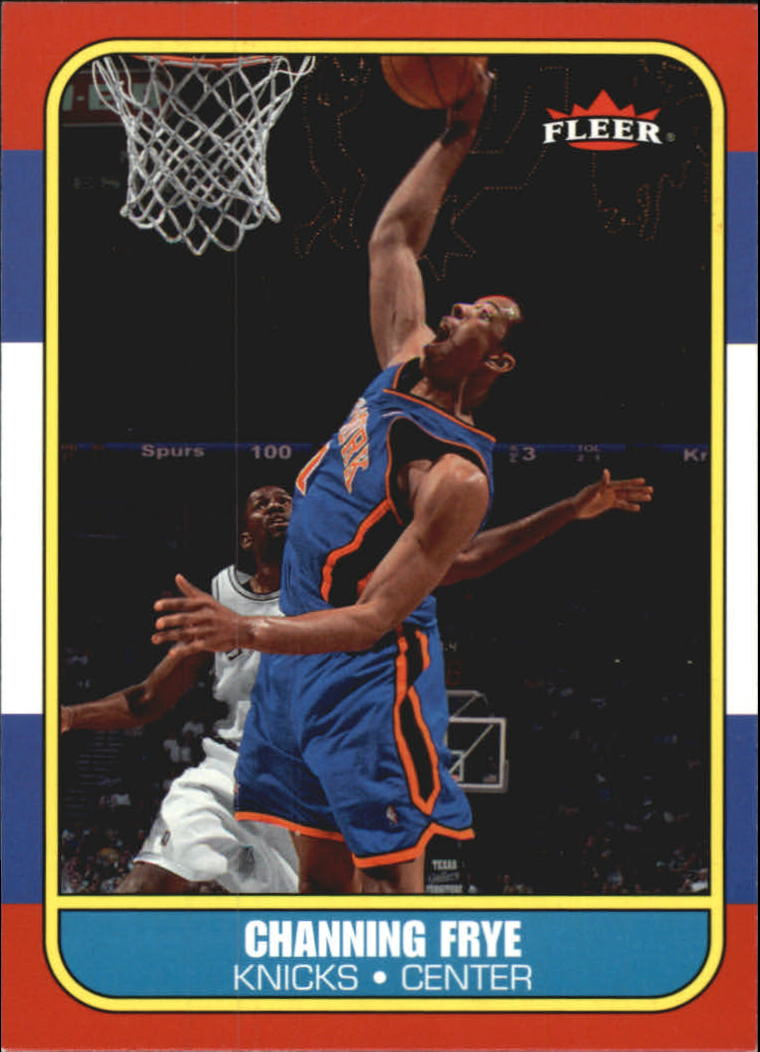 2006-07 Fleer 1986-87 20th Anniversary #22 Channing Frye