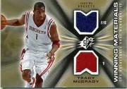 2006-07 SPx Winning Materials #WMTM Tracy McGrady