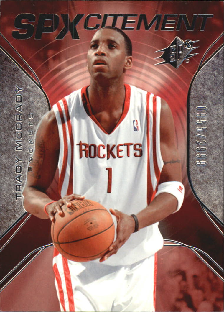 2006-07 SPx SPxcitement #SPX59 Tracy McGrady