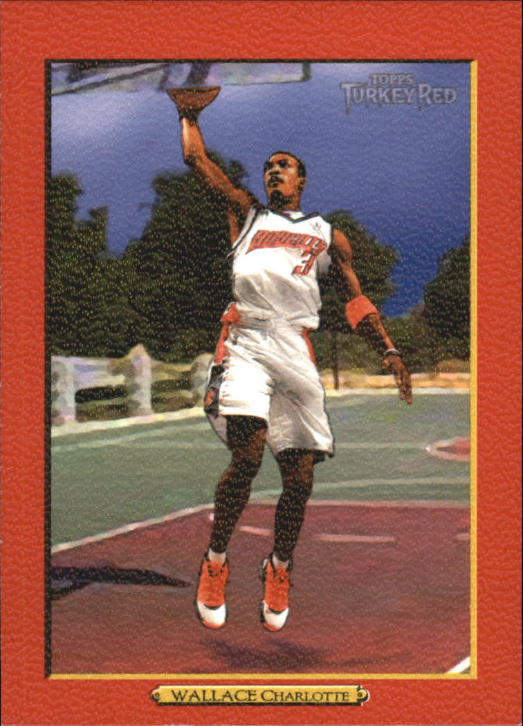 2006-07 Topps Turkey Red Red #123 Gerald Wallace