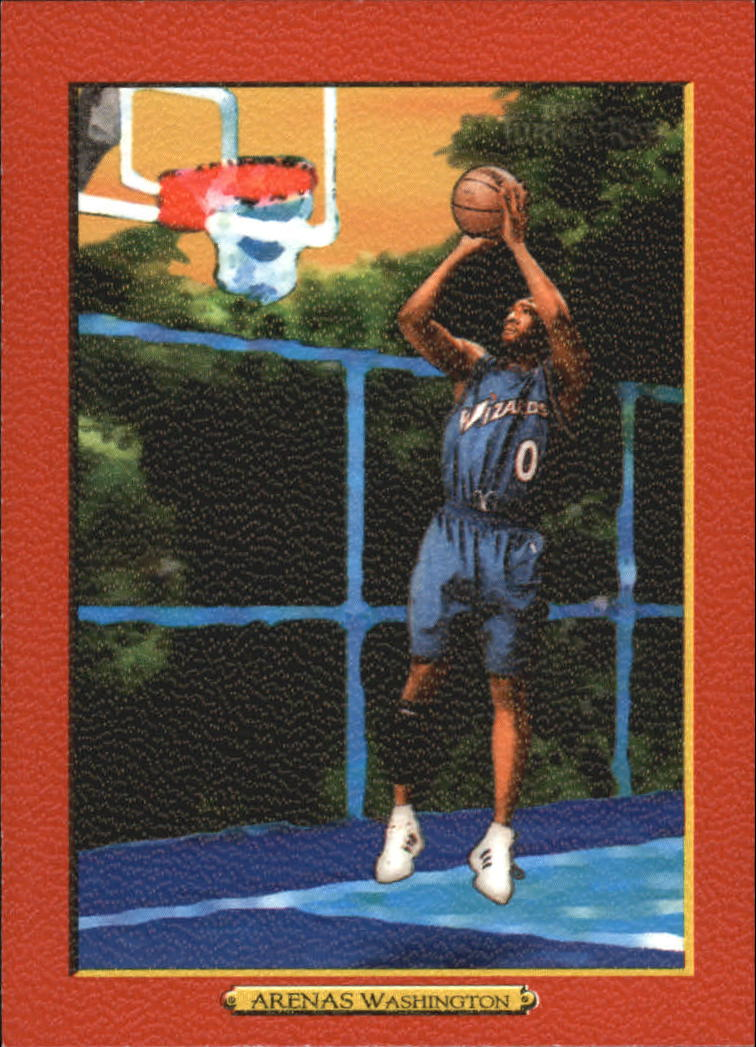 2006-07 Topps Turkey Red Red #130 Gilbert Arenas