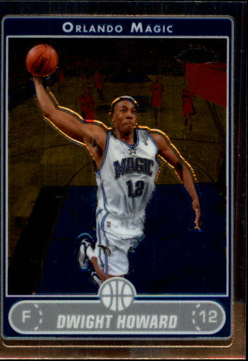 2006-07 Topps Chrome #10 Dwight Howard