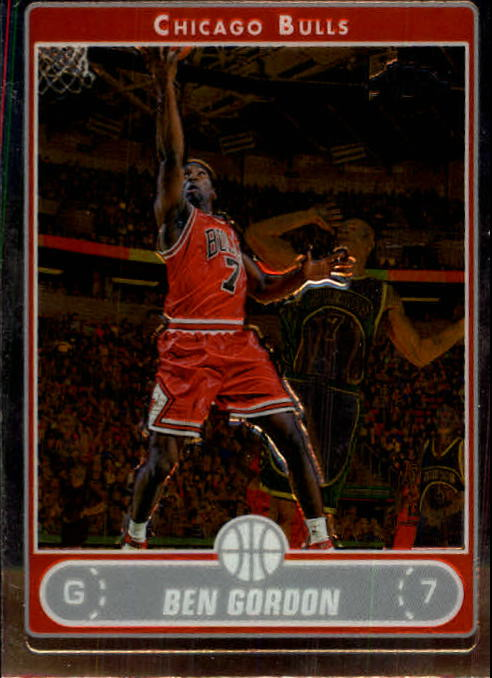 2006-07 Topps Chrome #14 Ben Gordon
