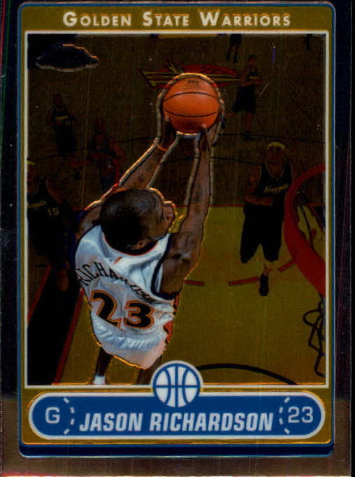 2006-07 Topps Chrome #18 Jason Richardson