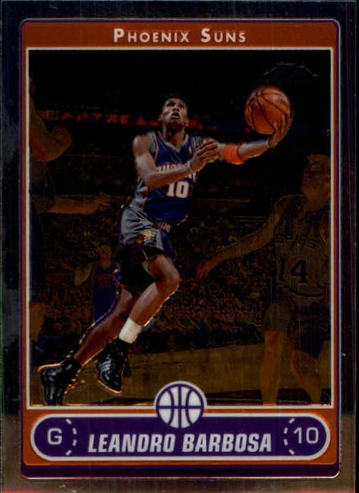 2006-07 Topps Chrome #20 Leandro Barbosa