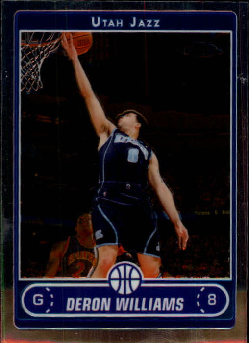 2006-07 Topps Chrome #21 Deron Williams