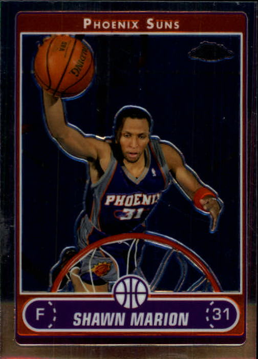 2006-07 Topps Chrome #24 Shawn Marion