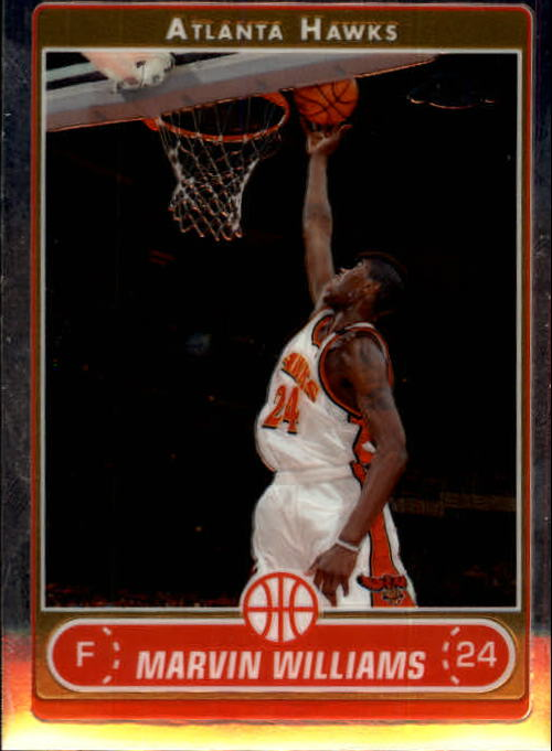 2006-07 Topps Chrome #30 Marvin Williams