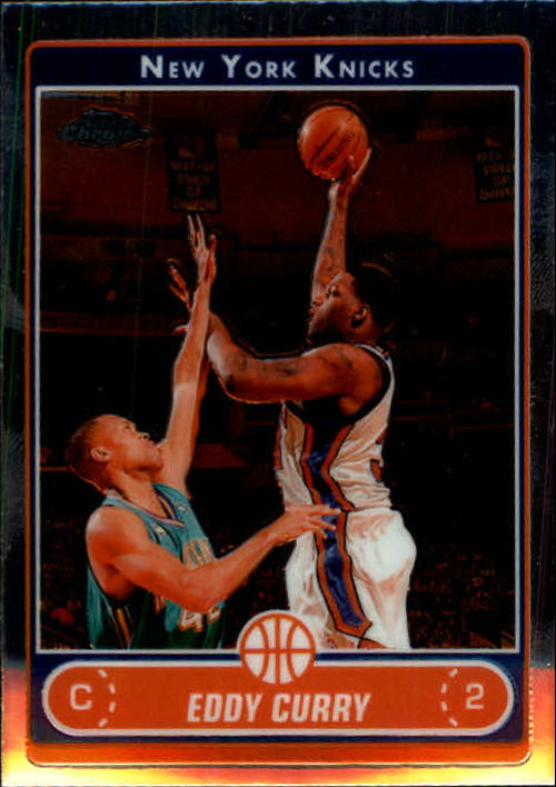 2006-07 Topps Chrome #31 Eddy Curry