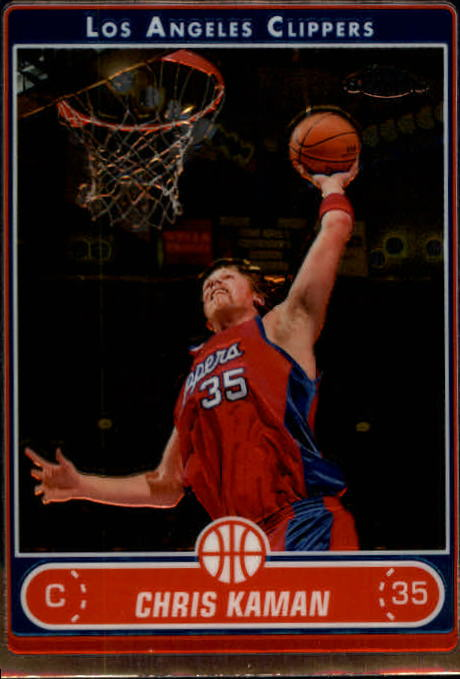 2006-07 Topps Chrome #35 Chris Kaman