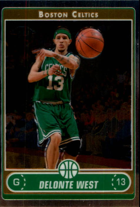 2006-07 Topps Chrome #63 Delonte West