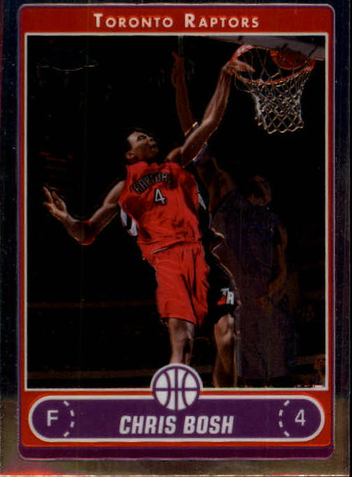 2006-07 Topps Chrome #74 Chris Bosh