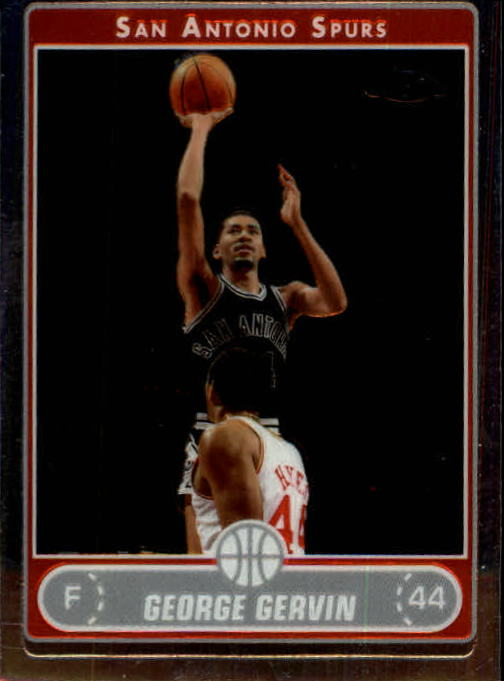 2006-07 Topps Chrome #159 George Gervin