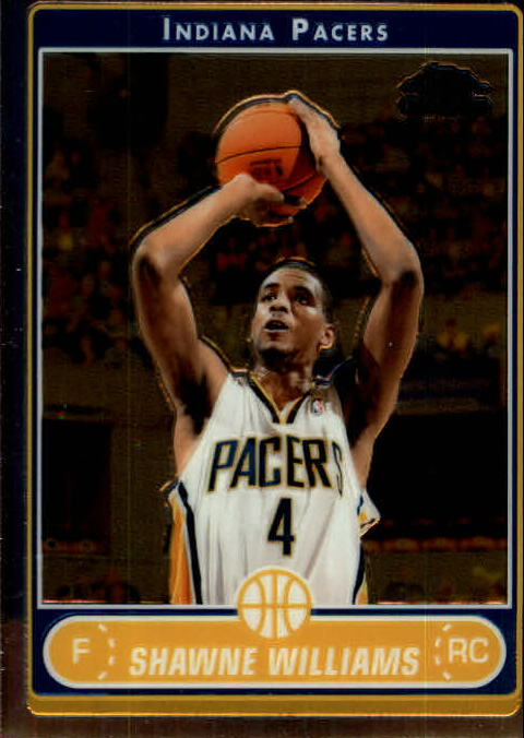 2006-07 Topps Chrome #204 Shawne Williams RC front image