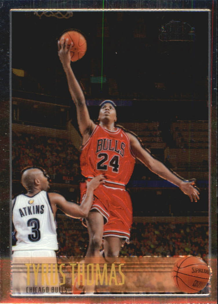 2006-07 Topps Chrome 1996-97 Variations #189 Tyrus Thomas