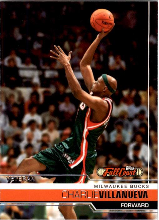 2006-07 Topps Full Court #67 Charlie Villanueva