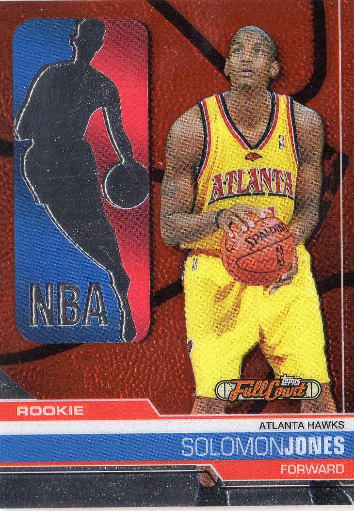 2006-07 Topps Full Court #111 Solomon Jones RC