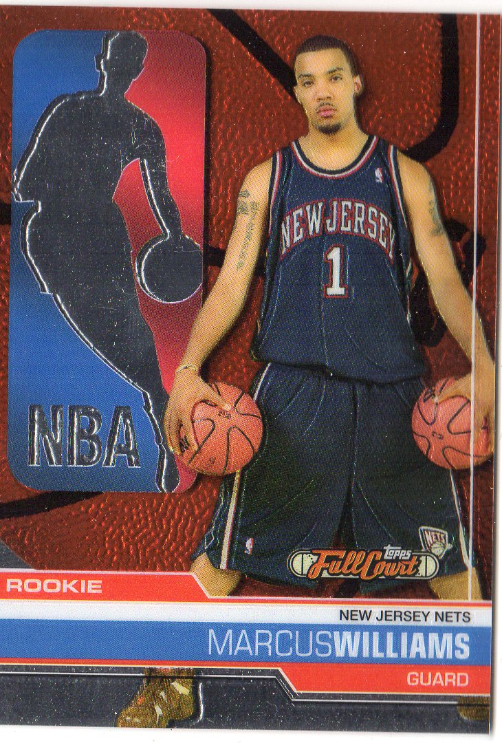 2006-07 Topps Full Court #136 Marcus Williams RC