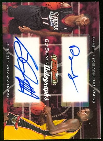 2006-07 Topps Full Court Co-Signers #CS44 Bobby Jones/Solomon Jones
