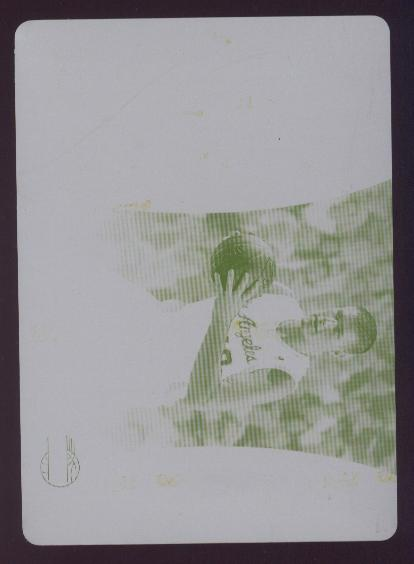 2006-07 E-X Press Plates Yellow #56 Paul Davis