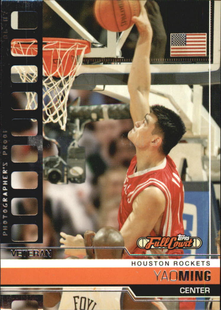 2006-07 Topps Full Court Photographer's Proof #53 Yao Ming
