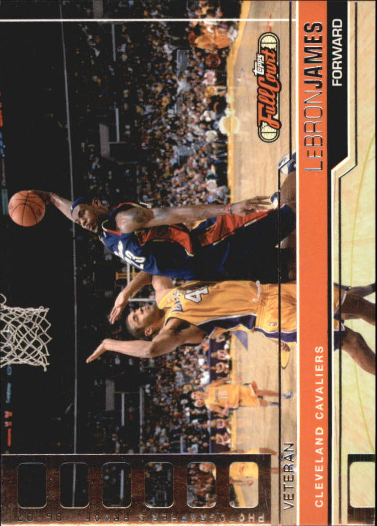 2006-07 Topps Full Court Photographer's Proof #57 LeBron James