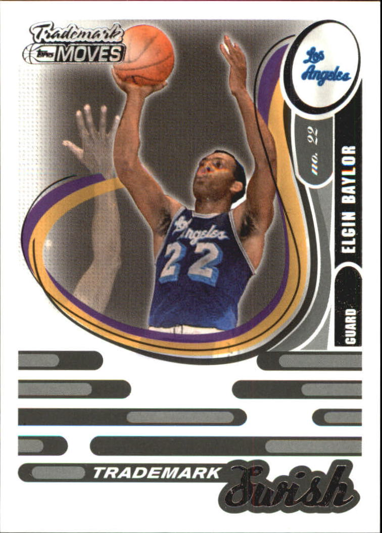 2006-07 Topps Trademark Moves Swish #TSW15 Elgin Baylor
