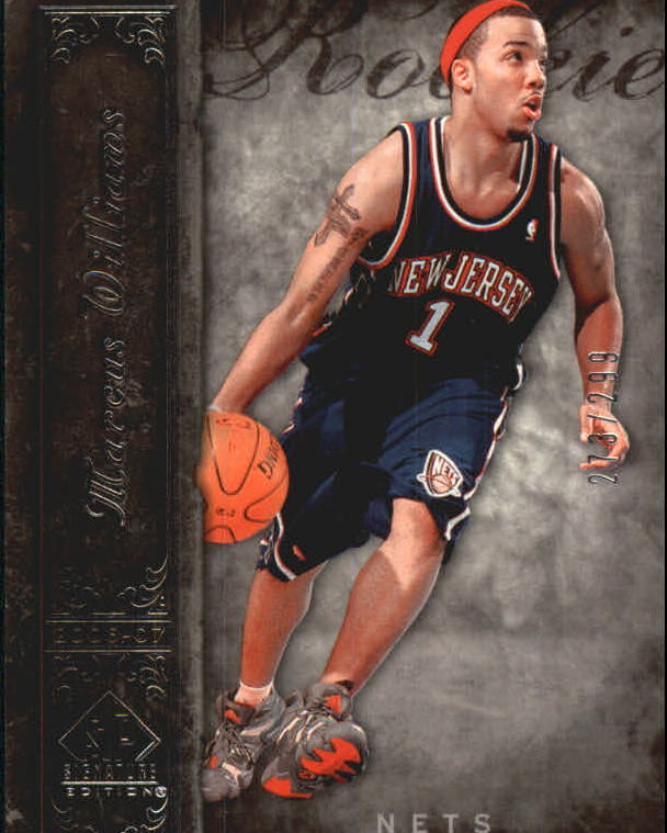 2006-07 SP Signature Edition #121 Marcus Williams RC