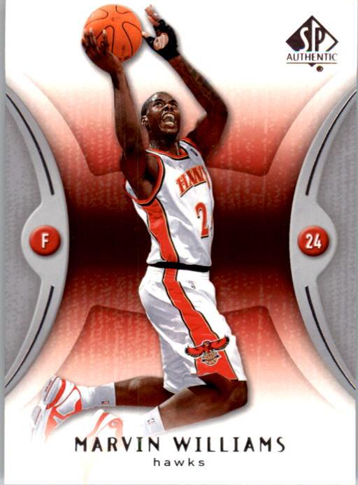 2006-07 SP Authentic #2 Marvin Williams