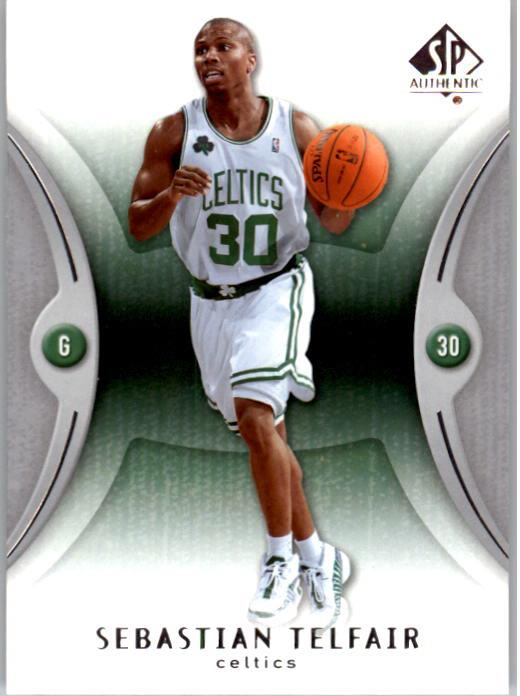 2006-07 SP Authentic #5 Sebastian Telfair