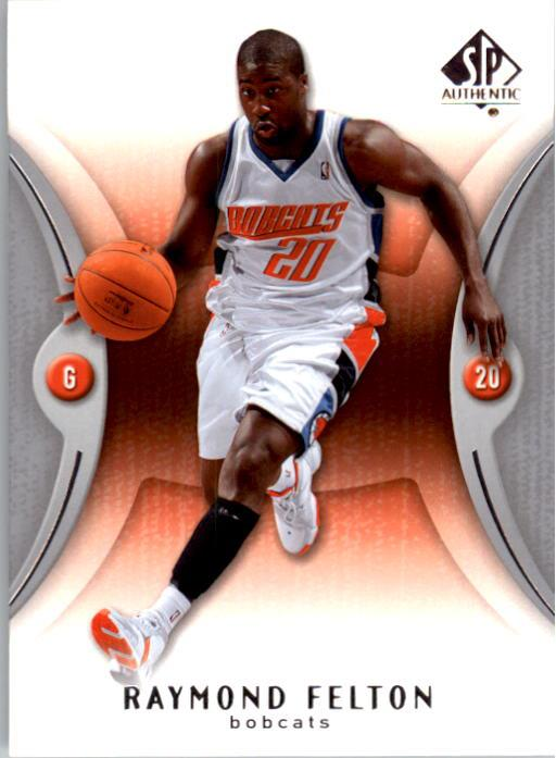 2006-07 SP Authentic #8 Raymond Felton