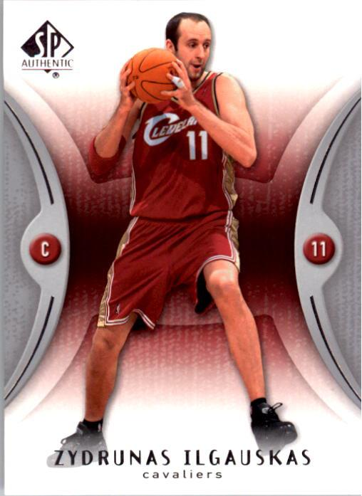2006-07 SP Authentic #14 Zydrunas Ilgauskas
