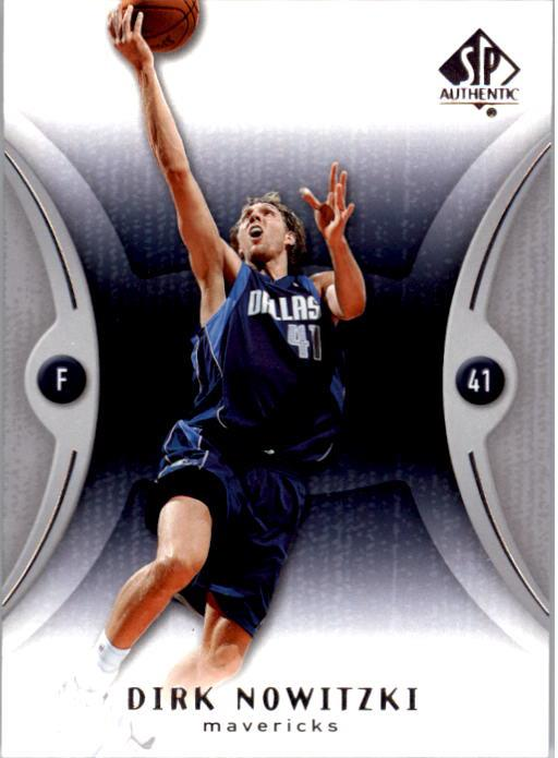 2006-07 SP Authentic #17 Dirk Nowitzki