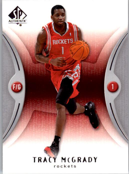 2006-07 SP Authentic #28 Tracy McGrady
