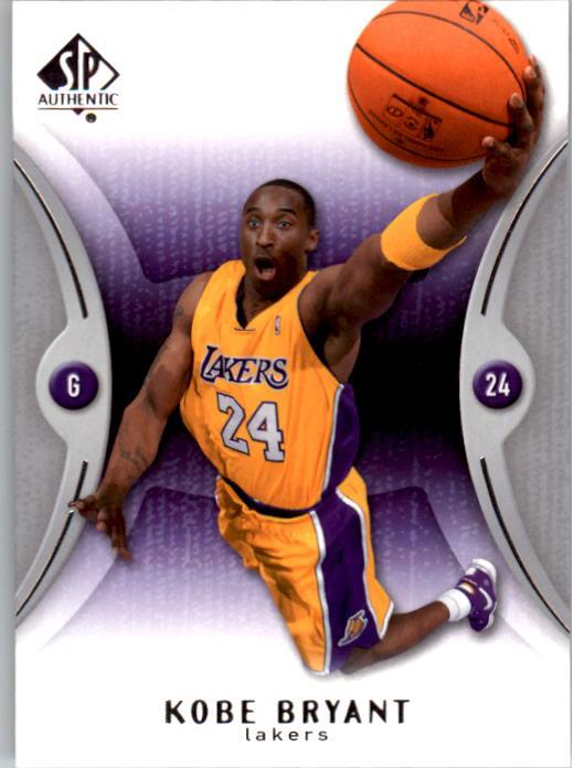 2006-07 SP Authentic #37 Kobe Bryant