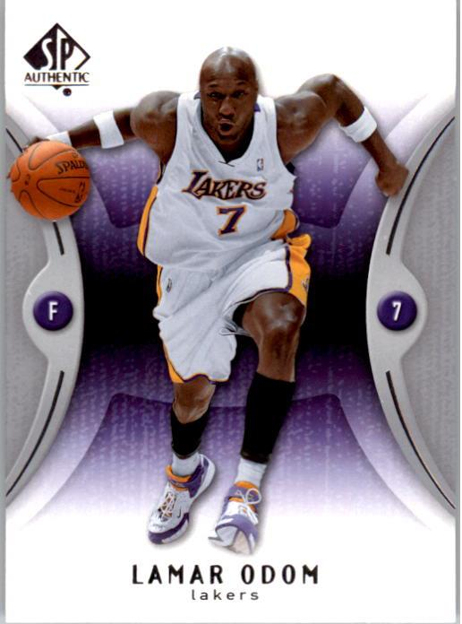 2006-07 SP Authentic #38 Lamar Odom