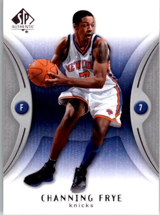 2006-07 SP Authentic #59 Channing Frye