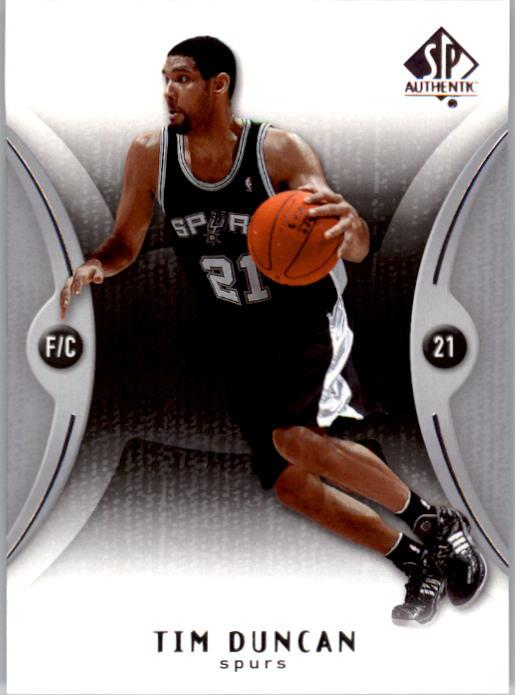 2006-07 SP Authentic #77 Tim Duncan