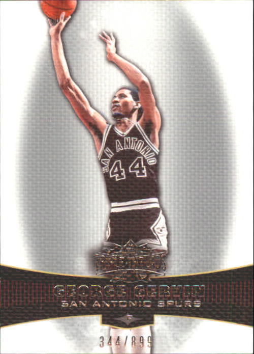 2006-07 Topps Triple Threads #100 George Gervin