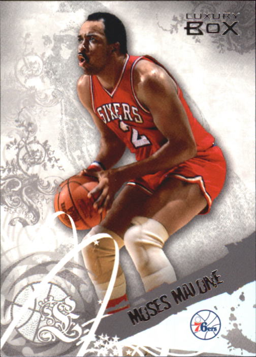 2006-07 Topps Luxury Box #44 Moses Malone