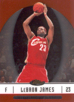 2006-07 Finest #22 LeBron James