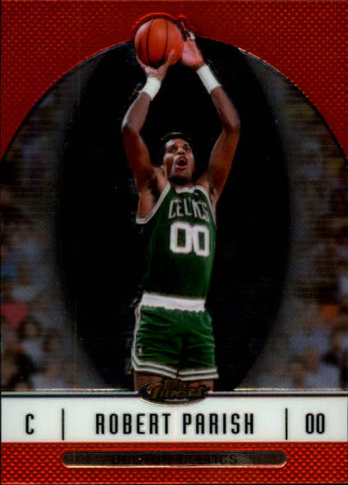 2006-07 Finest #45 Robert Parish