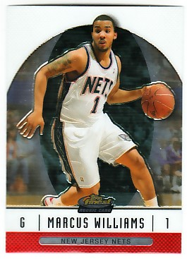 2006-07 Finest #74 Marcus Williams RC front image