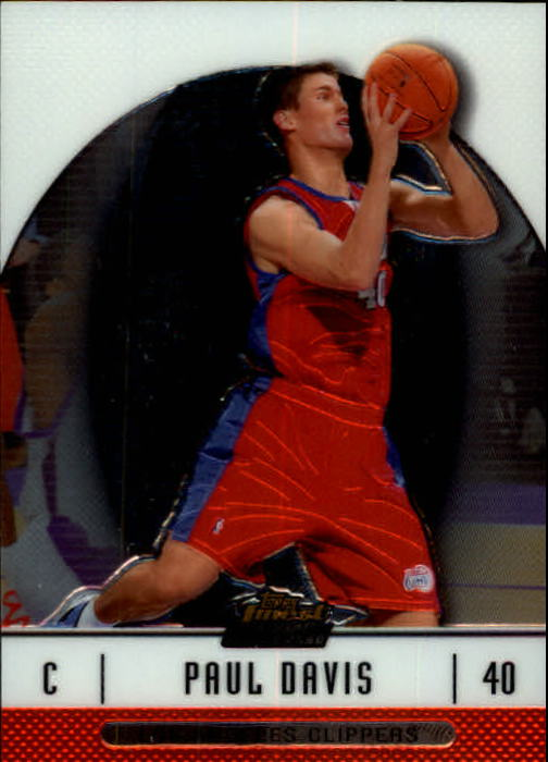 2006-07 Finest #84 Paul Davis RC