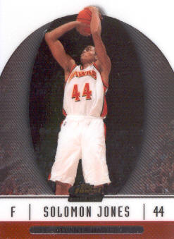 2006-07 Finest #91 Solomon Jones RC front image