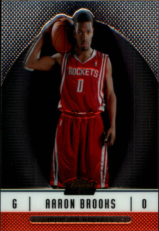 2006-07 Finest #126 Aaron Brooks XRC